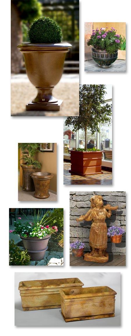 Wholesale Garden Planters, Henri Cast Stone Planters, Brass Baron Bronze  Planters, Valley View Polyethylene Planters